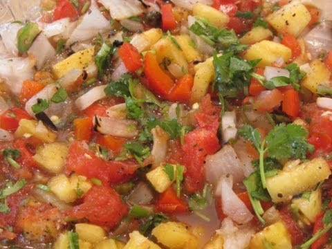 ~Grilled Pineapple Salsa~