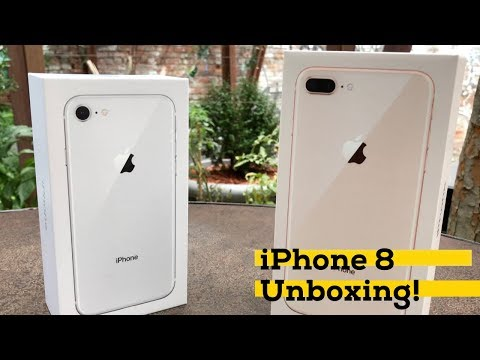 iPhone 8 and 8 Plus unboxing! [iMore]