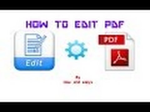 How To Edit PDF File Without Any Software