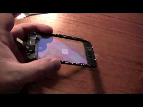 Iphone 3G glass replacement