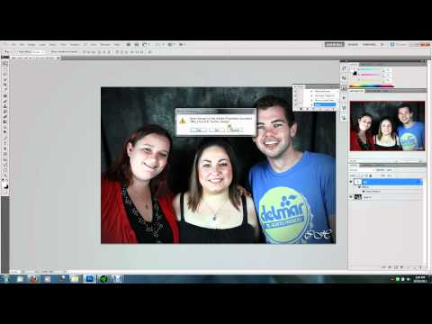 Photoshop CS5 Batch Resizing Tutorial