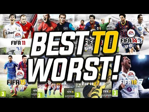 EVERY FIFA GAME RANKED BEST TO WORST