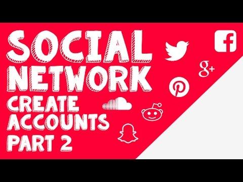 New Social Network - Part 2 - Creating Accounts
