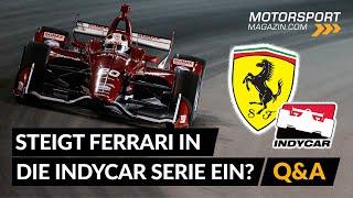 Steigt Ferrari in die IndyCar ein?