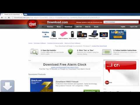 How to Download and Set Alarm Clock on Computer