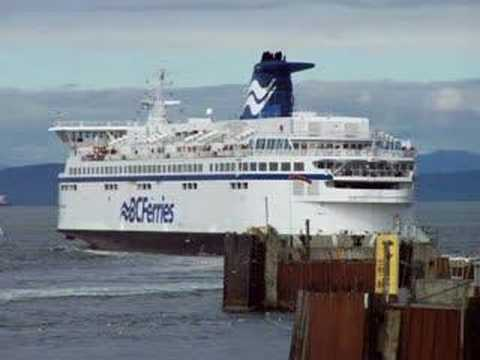 Recently Renovated BC Ferry 'Spirit of Vancouver Island'