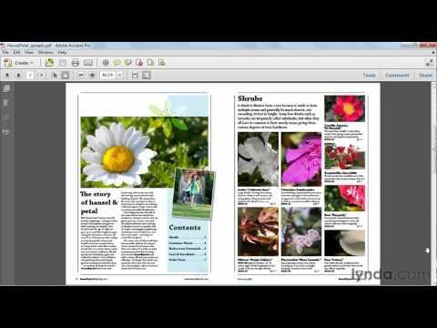 How to export facing PDF pages | lynda.com tutorial