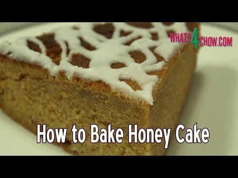 Rosh Hashanah Honey Cake - Happy Jewish New Year!!!