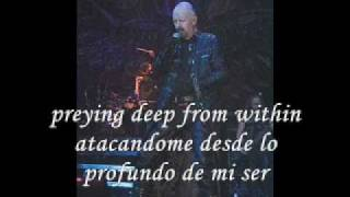 A touch of evil letra ingles español Judas Priest
