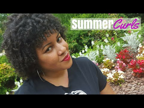 Summer Curls | Perfect Transitioning Hairstyle