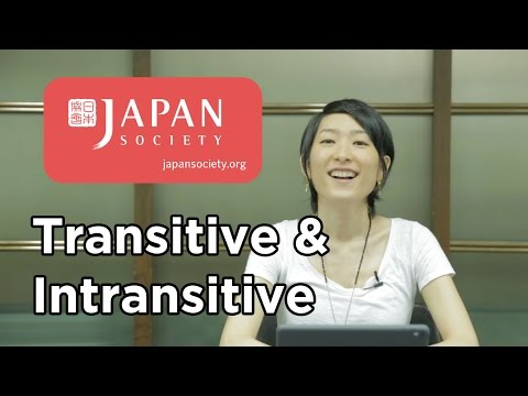 Uki Uki Japanese Lesson 43 - Transitive vs. Intransitive Verbs