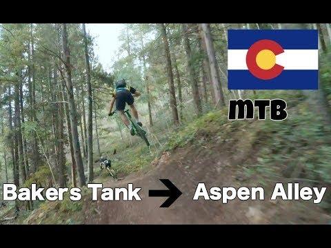 Colorado Mountain Biking! Bakers Tank to Aspen Alley | Breckenridge, CO