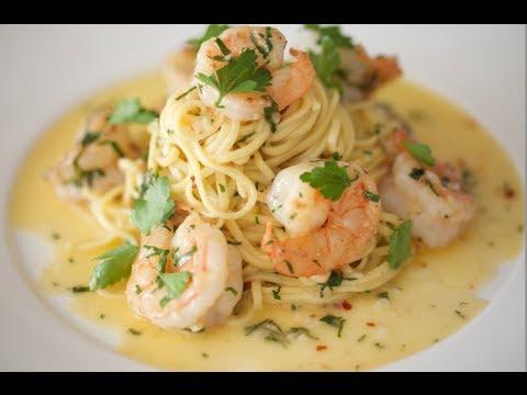 Shrimp Scampi & Linguine | Byron Talbott