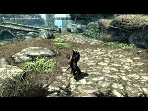 Skyrim   Running Faster With Unsheathed Weapons
