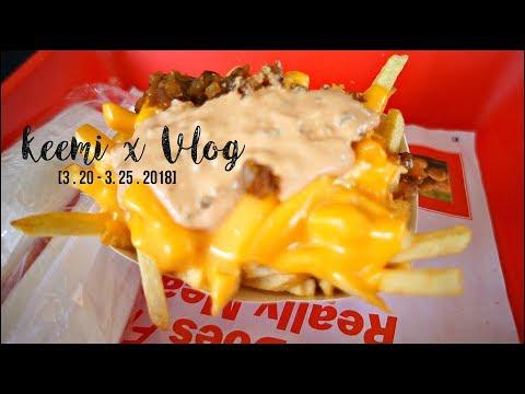 What I ate in Nevada/California + Most beautiful Scenery snowboarding ever... | KEEMI★VLOG