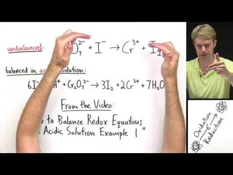 Balancing Redox Equations in Basic Solution Example Problem