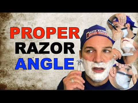 Find the Proper Angle With Any Razor!