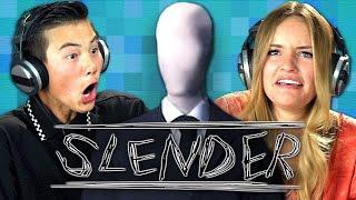 SLENDER (Teens React: Gaming)