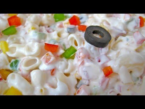 Creamy Pasta Salad Recipe In Hindi - क्रीमी पास्ता सलाद रेसिपी @ jaipurthepinkcity.com