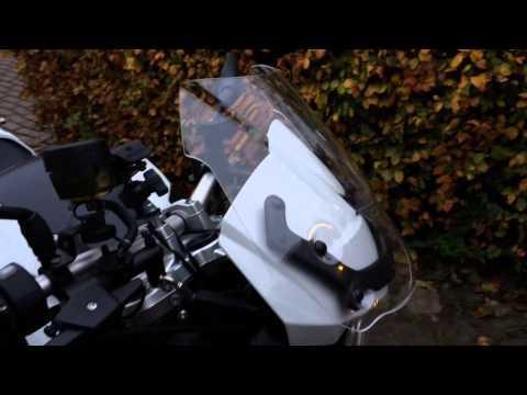 BMW F800R windscreen