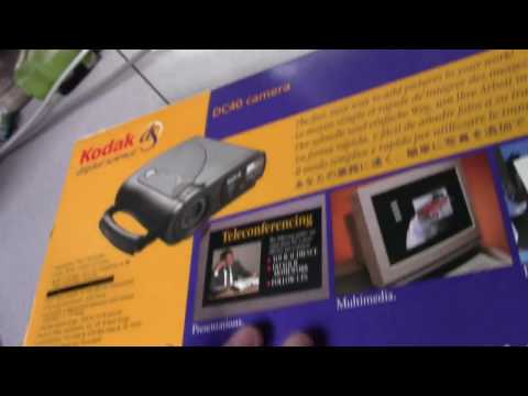 Kodak DC40 Digital Camera From 1995