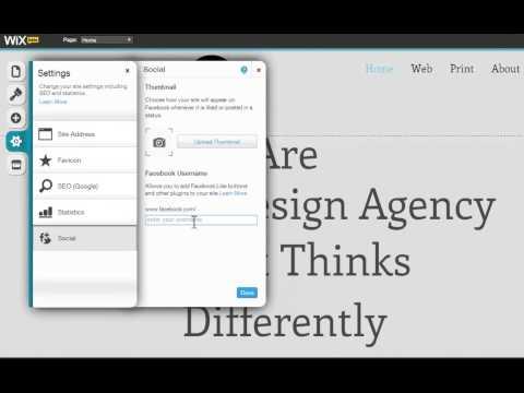 HTML Website Builder | Make your Wix Site Social