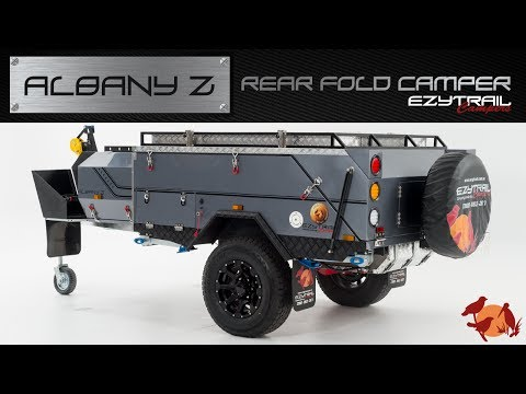 Ezytrail Albany Z Rear fold camper trailer