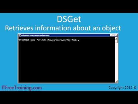 MCITP 70-640: Active Directory Command Line Tools