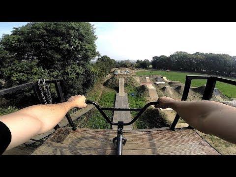 Riding The UK'S Biggest Dirt Jumps! * INSANE TRICKS*