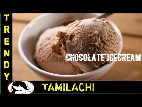 How to make Icecream at Home|| TAMIL || Best ever Chocolate icecream with only 3 ingredients