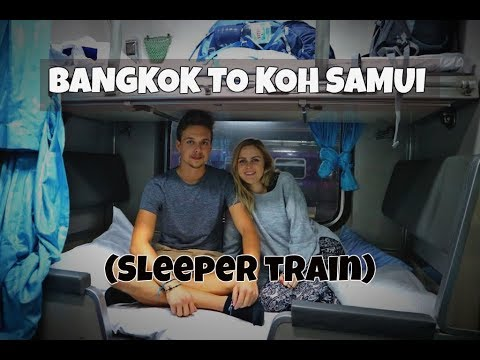 Thailand: Bangkok to koh samui (sleeper train)
