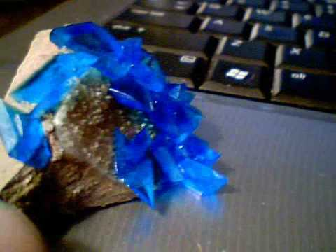 4 Hour Copper Sulphate Crystals