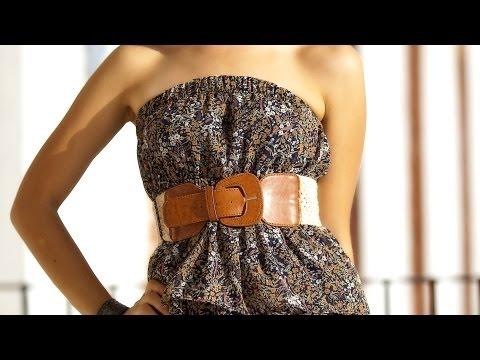 How to Wear a Belt   NYC Fashion