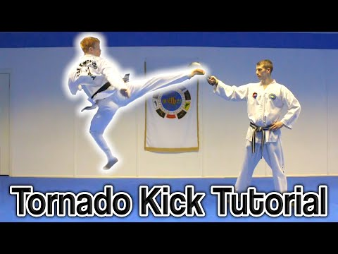 Taekwondo 360 Turning Kick/Tornado Kick Tutorial | GNT How to