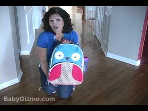 Baby Gizmo Skip Hop Zoo Rolling Luggage Review