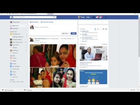 How to create a Facebook Page / account