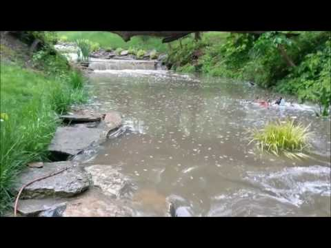 Relaxing Waterfall - Outdoor Living Inspiration