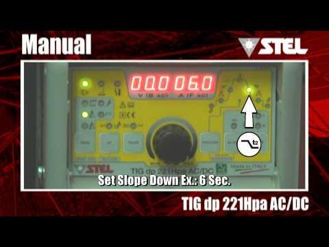 Tig dp 221Hpa AC/DC - TIG DC lift-HF