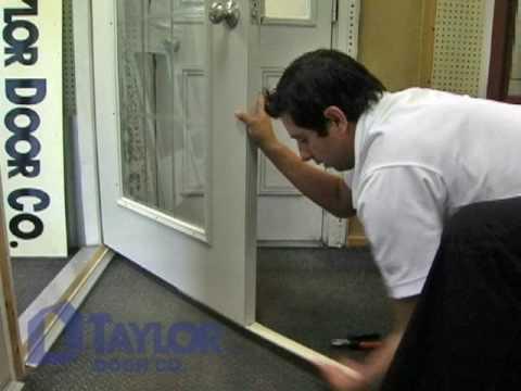 Taylor Door - Replace Door Sweep - Instructional Video