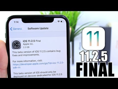 iOS 11.2.5 FINAL Version (BETA 7) is out | What's Next ?