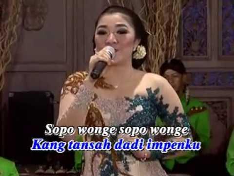Lirik Lagu SOPO WONGE Langgam Karawitan Campursari - AnekaNews.net