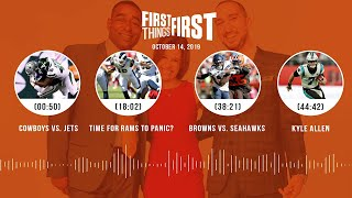 First Things First Audio Podcast(10.14.19)Cris Carter, Nick Wright, Jenna Wolfe | FIRST THINGS FIRST