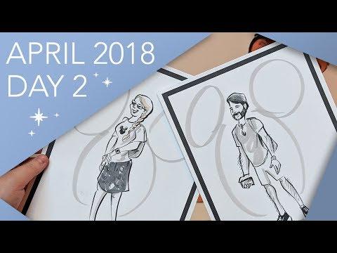 Walt Disney World Vlog | Day 2 | Resort Tours & Flying Fish | April 2018 | Adam Hattan