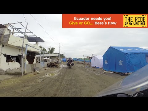 Ecuador needs you! give or GO, Here's How...