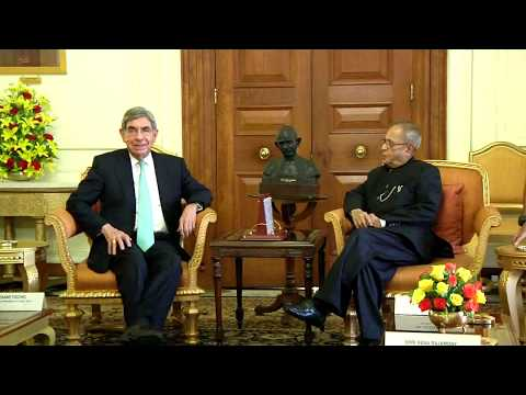 President of Costa Rica calls-on the President - 26-03-14