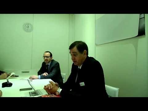 Johan van Zyl - Toyota Europe president - Geneva /2/
