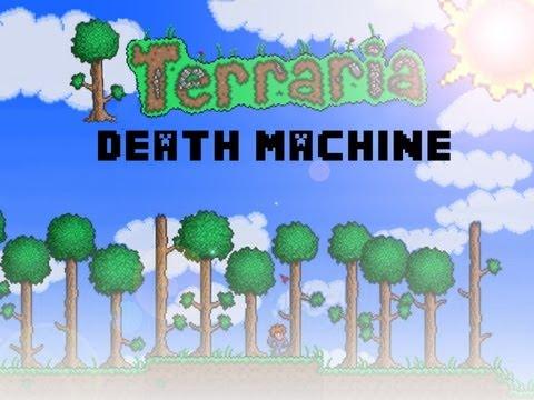 Terraria: Death Machine: Boulder Trap