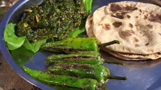 વાડી ની ગુજરાતી થાળી  નિકુંજ વસોયા દ્વારા | Gujarati Thali Recipes Cooking at Farm By Nikunj Vasoya