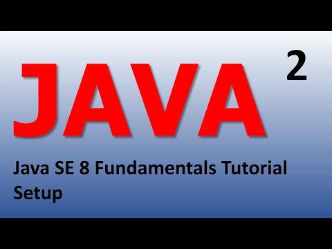 Java Introduction - Setup Epi 2