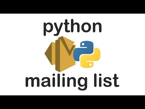 Simple Mailing List in Python